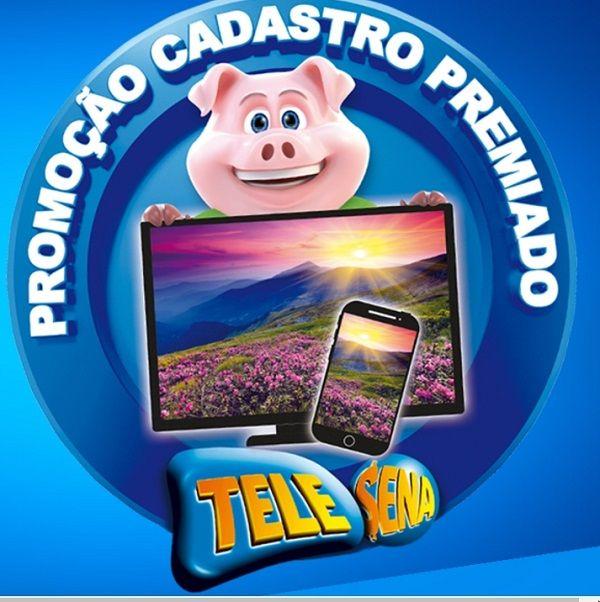 Promoção Cadastro Premiado Tele Sena 2018