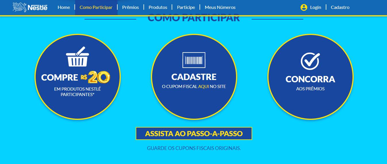 Inscrições Promoção Nestlé Tá Podendo