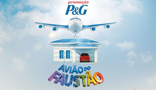 Promoção Avião do Faustão